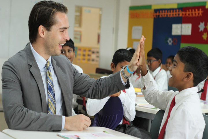 Ebenezer International School-Friendship with Teachers and Students