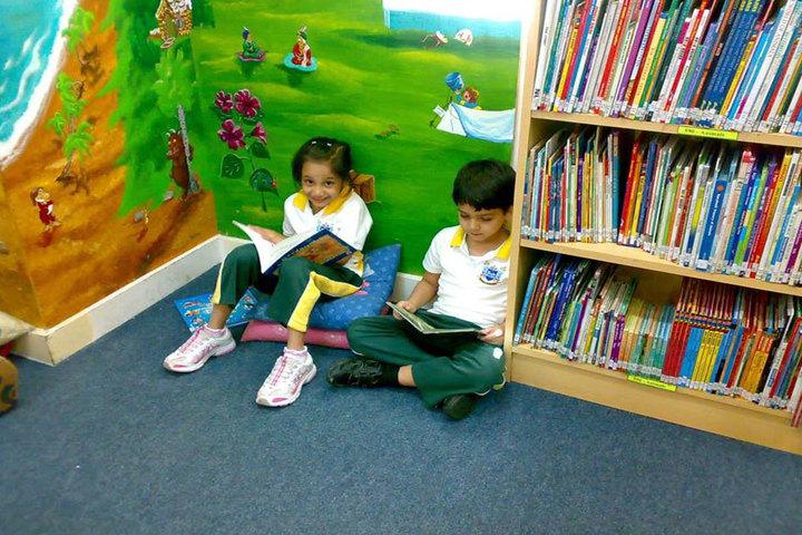 Ecole Mondiale World School - Junior Section Reading Room