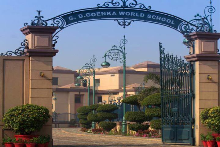 G D Goenka World School-School Entrance
