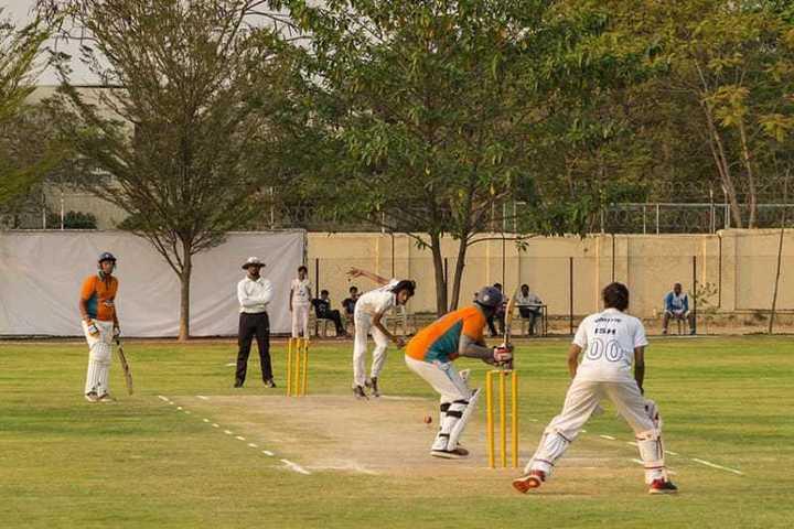 School Cricket Player