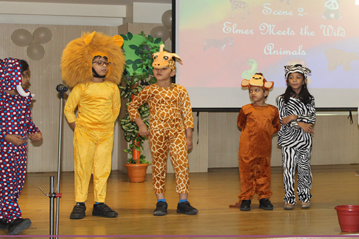 JBCN International School-Fancy Dress