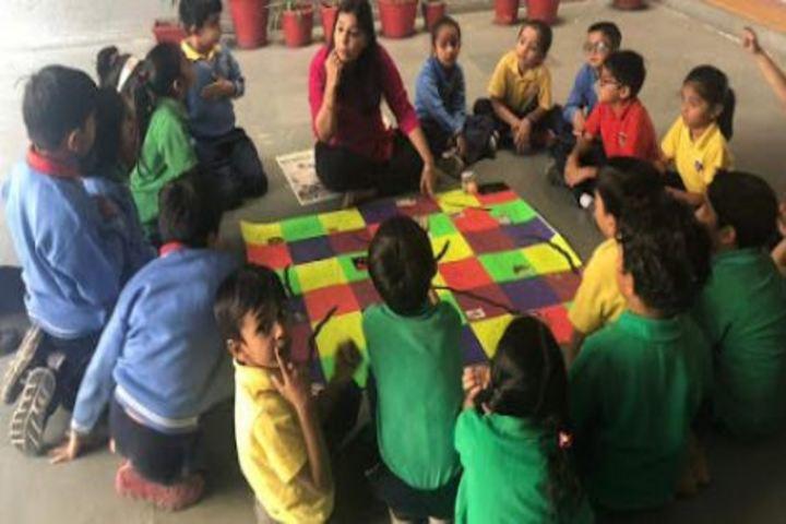 JG International School-Health Talk