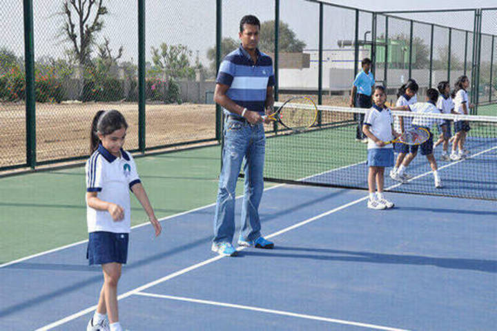 Jayshree Periwal International School-Tennis