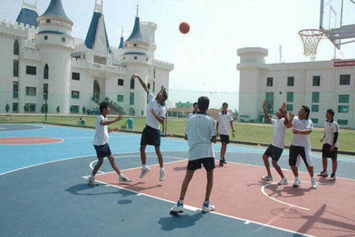 Jayshree Periwal International School-Basketball Courts