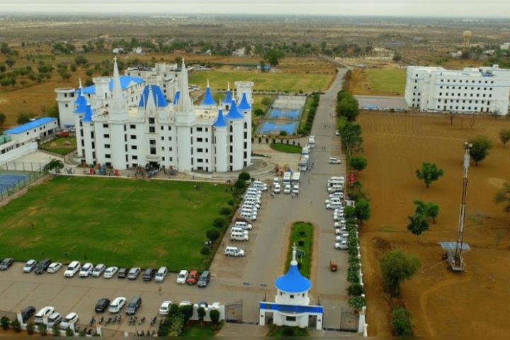 Jayshree Periwal International School - School Campus View