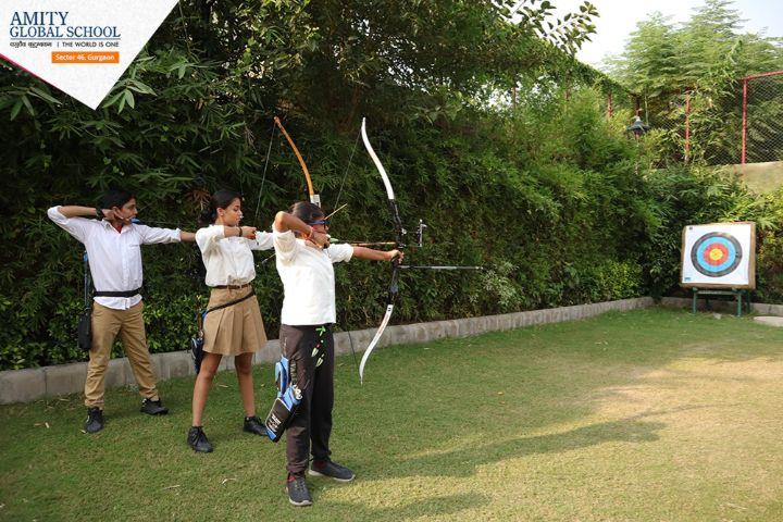 Amity Global School-Archery