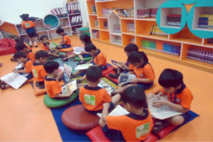 Bunts Sanghas S M Shetty International School and Junior College-Libray