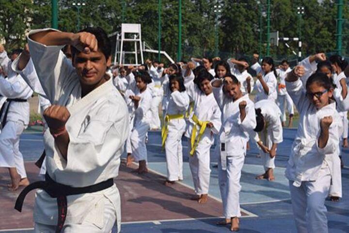 Mody School-Mody School-Karate