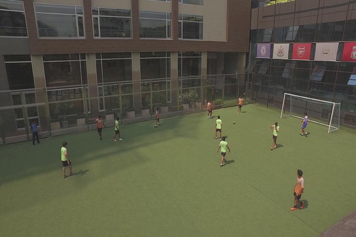 Hill Spring International School-Football Game