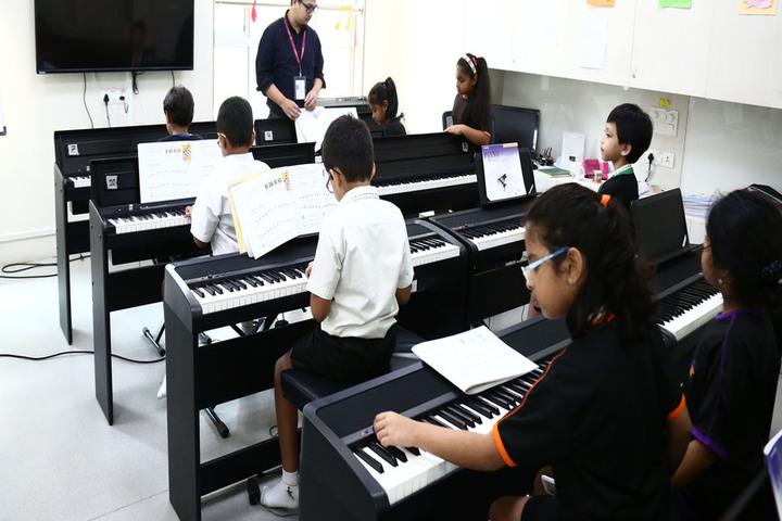 Nahar International School-Piano Class