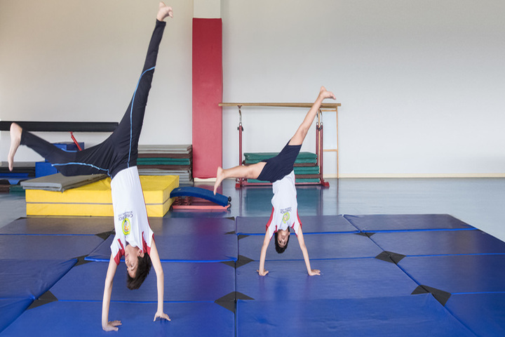 Oberoi International School-Gymnastic