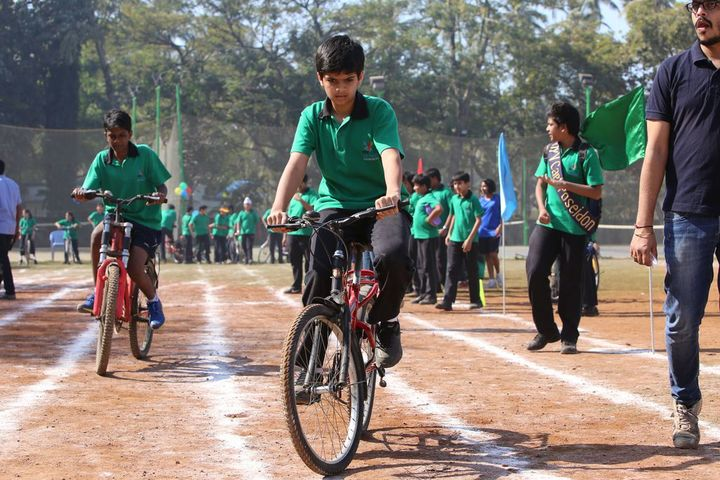 SVKM International School-Cycling Competition