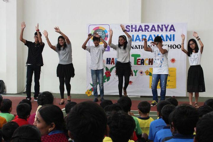 Sharanya Narayani International School-Dance Competition