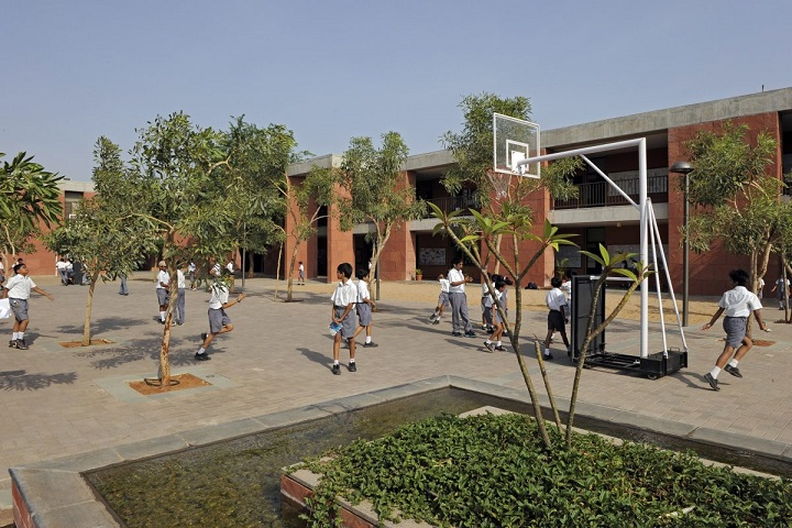 The Aga Khan Academy-Basket Ball Court