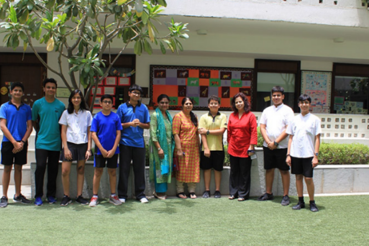 Students with Teachers