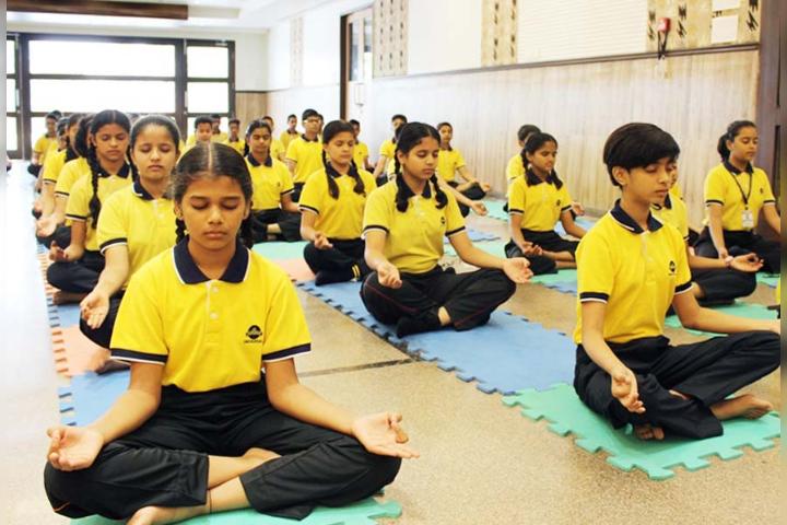 The Universal School, Ghatkopar - Yoga Activity