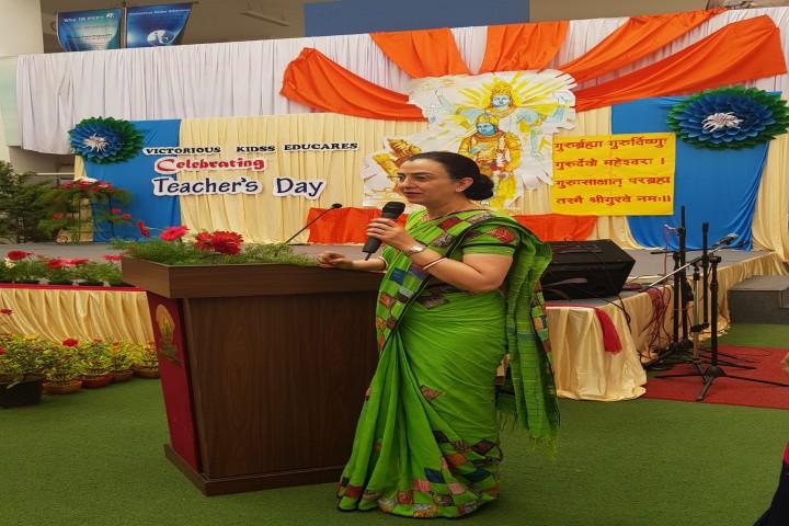 Victorious Kidss Educares-Teachers Day Celebration