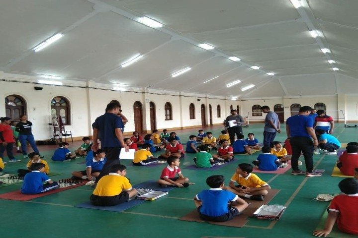 Vishwashanti gurukul  indoor games