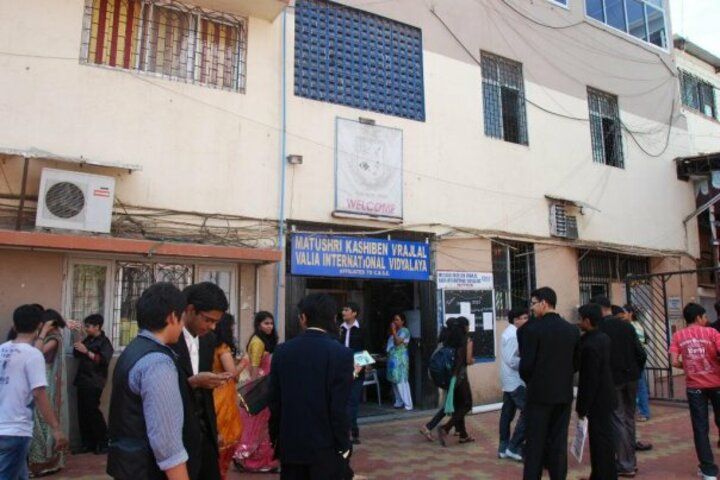 Matushri Kashiben Vrajlal Valia International Vidyalaya-School Entrance