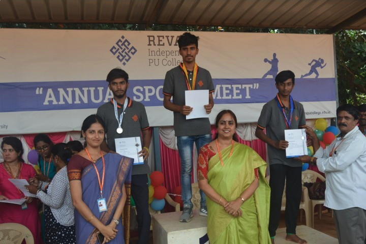 Reva Independent PU College-Sports day