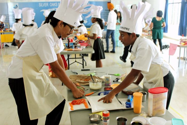 Silver Oaks International School-Cooking