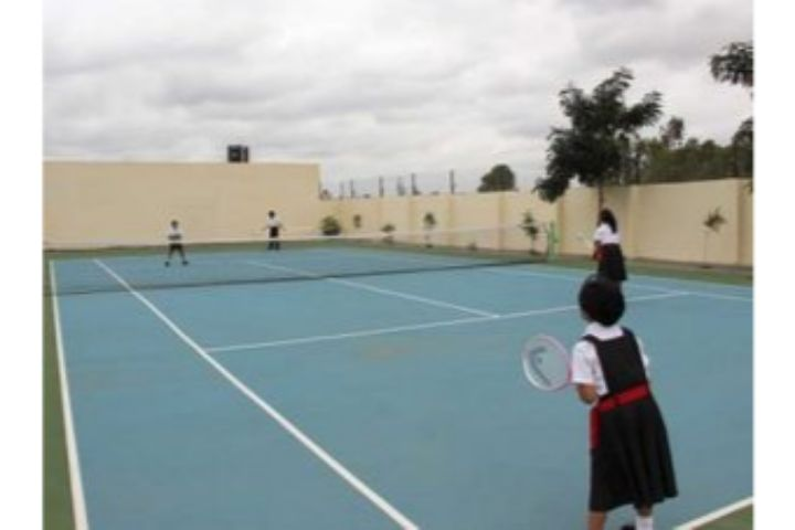 Silver Oaks International School-Tennis