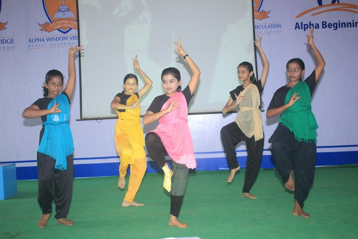 Alpha Cambridge International School-Dance Activity