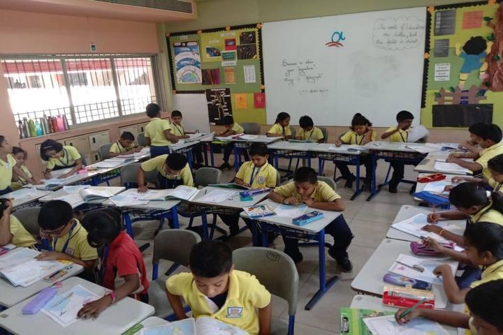 Alpha Cambridge International School-Drawing Activity