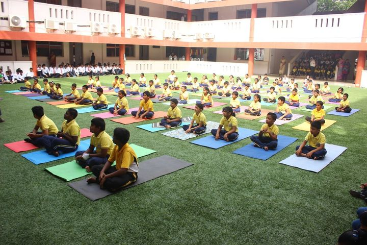 Alpha Cambridge International School-Yoga