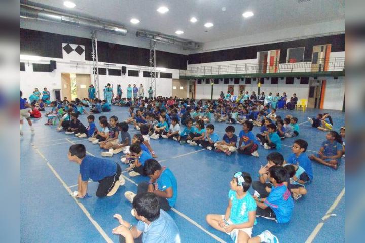APL Global School- Indoor Sport Room
