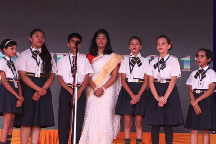 Aspire International School-Singing comptition