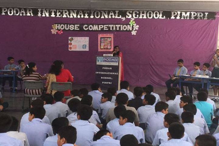 Podar International School-House Competition