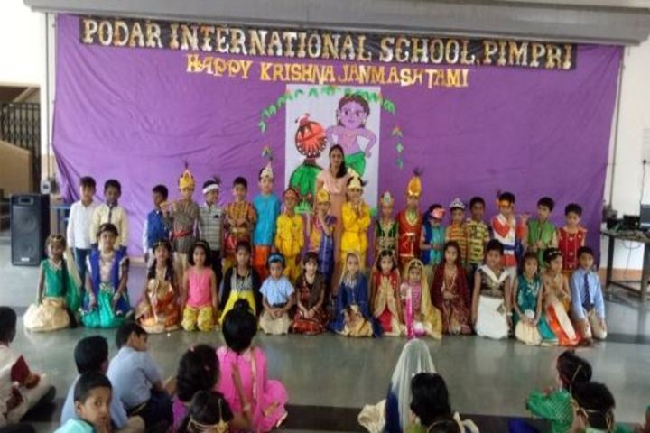 Podar International School-Krishnastami