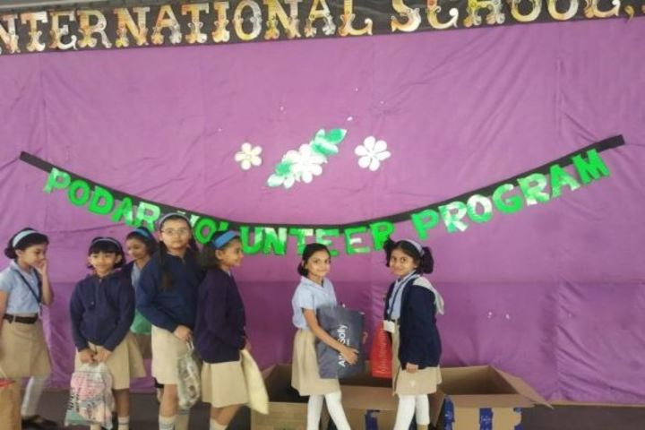 Podar International School-Volunteer Program