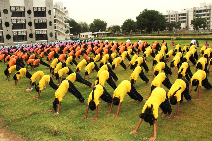 BAPS Swaminarayan Vidyamandir-Yoga