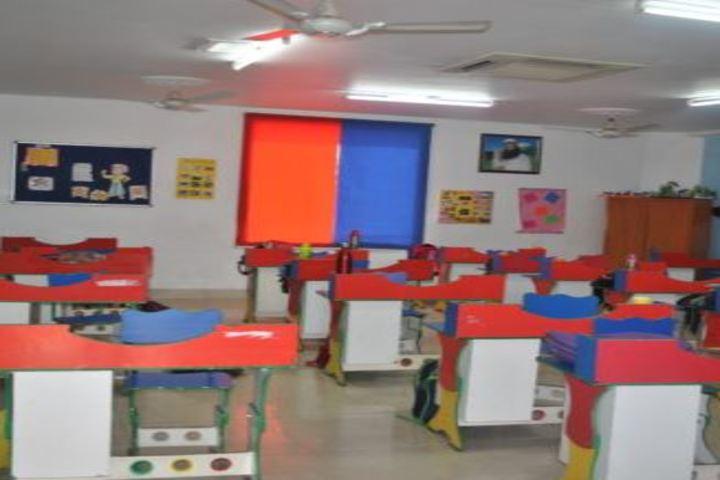 Saint MSG Glorious International School-Classroom