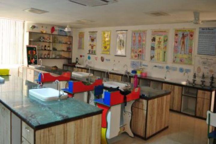 Saint MSG Glorious International School-Lab