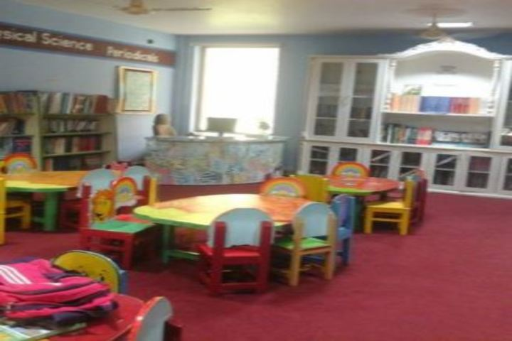 Saint MSG Glorious International School-Library