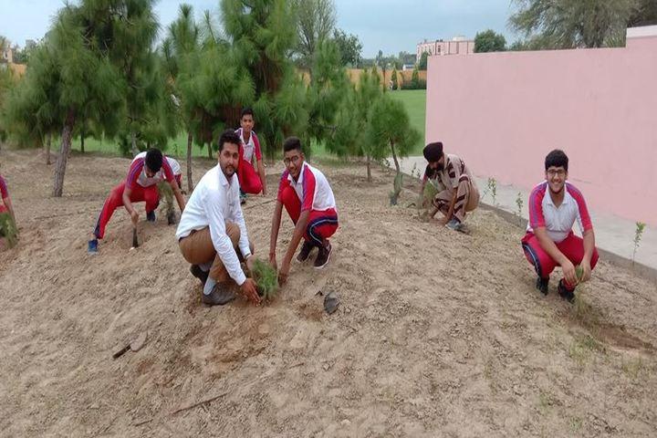 Saint MSG Glorious International School-Planting Tree