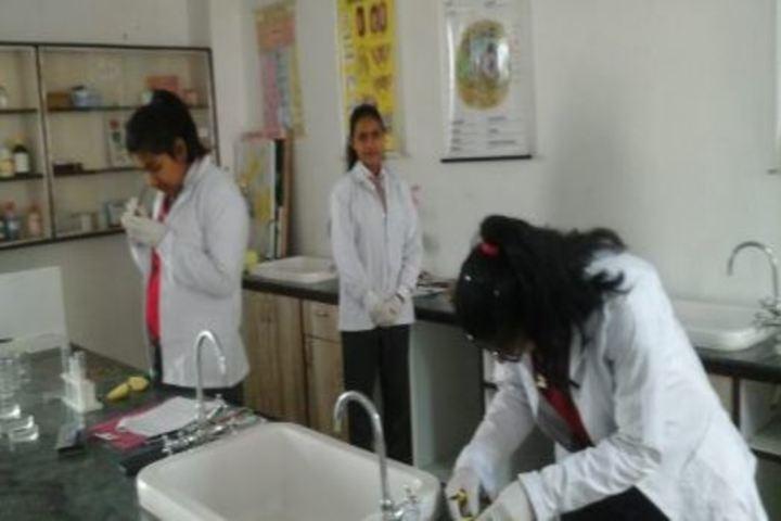 Saint MSG Glorious International School-Science Lab
