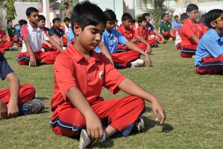 Saint MSG Glorious International School-Yoga