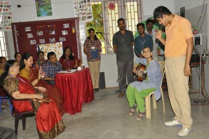 Lady Andal Venkatasubba Rao Matriculation School-Music Compitition