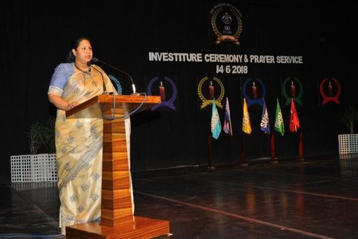 Lady Andal Venkatasubba Rao Matriculation School-Speech