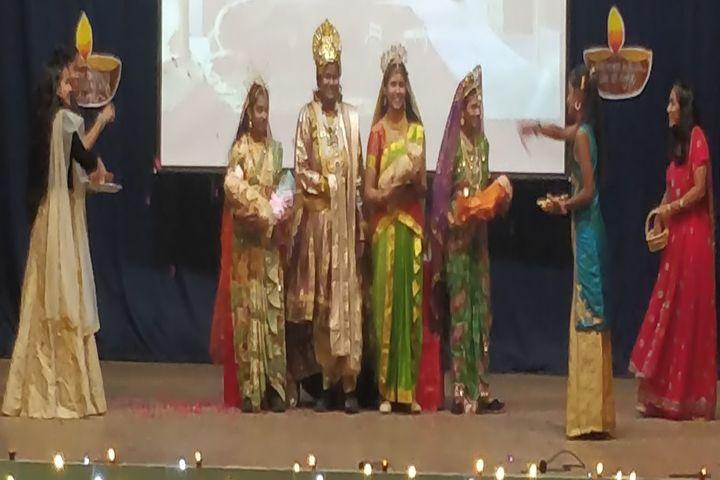 Sacred Heart Matriculation Higher Secondary School-Diwali Celebrations
