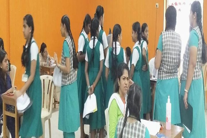 Sacred Heart Matriculation Higher Secondary School-Medical Camp