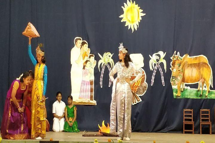 Sacred Heart Matriculation Higher Secondary School-Pongal Celebration