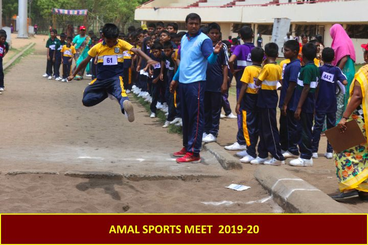 Amalorpavam Higher Secondary School-Long jump