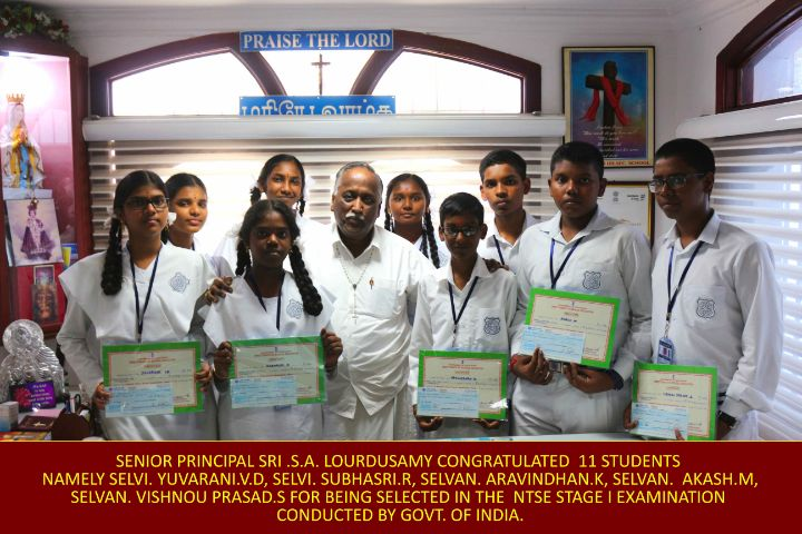 Amalorpavam Higher Secondary School-Prize distribution