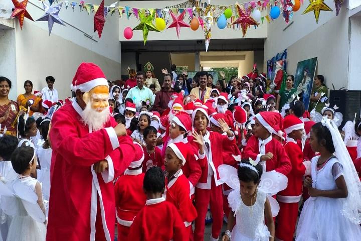 Velammal Matriculation Higher Secondary School-Christmas Celebration