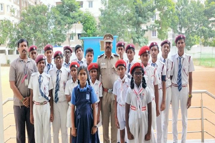 Velammal Matriculation Higher Secondary School-NSS Team